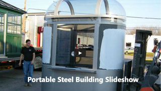 portable steel buildings slideshow video
